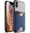 Apple iPhone XS Max Case - Nubuck Blue