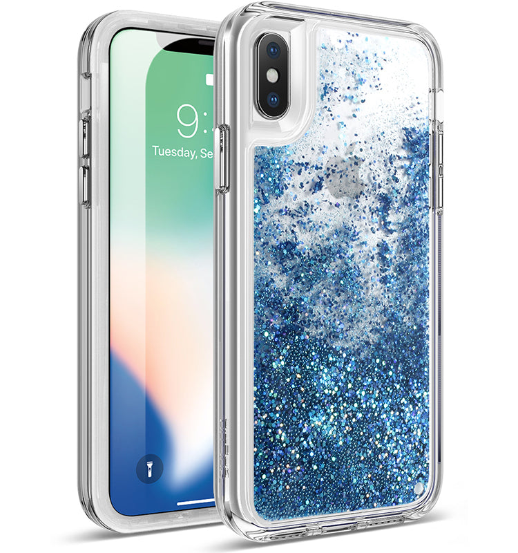 Apple iPhone X Case - Cascade Teal