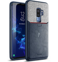 Samsung Galaxy S9 Plus Case - Nubuck Navy Blue