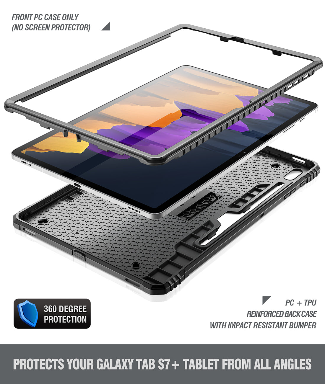 Revolution - Samsung Galaxy Tab S7 Plus Case