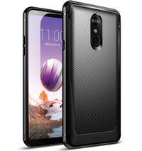 LG Stylo 4 Case - karbo Shield Black