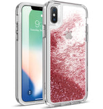 Apple iPhone X Case - Cascade HotPink
