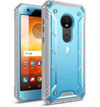 Motorola Moto E5 Play Case - Revolution Blue