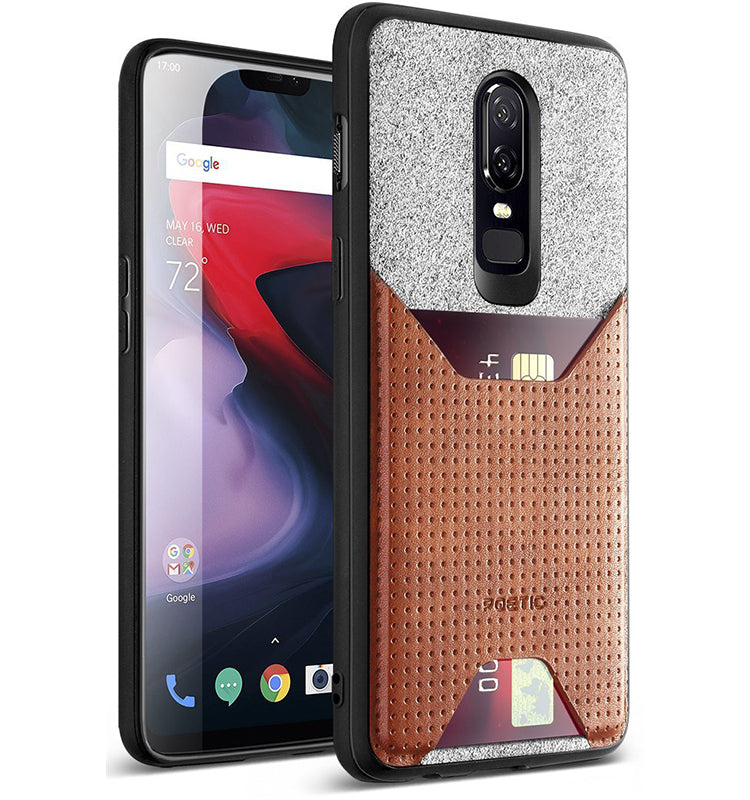 OnePlus 6 Case - Nubuck Brown