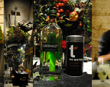 A spooky G&tea event in collaboration with Greenall's gin