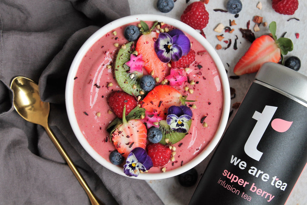Berry Tea Smoothie Bowl