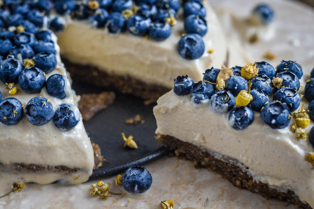Chamomile & Vanilla Vegan Cheesecake Recipe