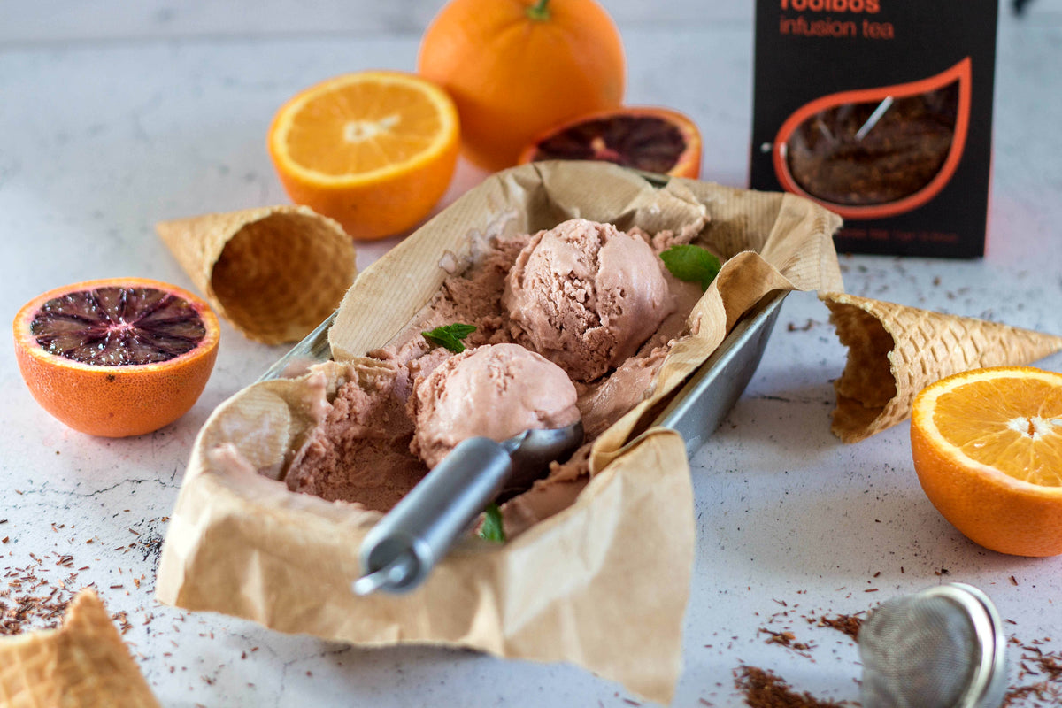 Vegan Rooibos, Vanilla & Orange Ice-cream Recipe