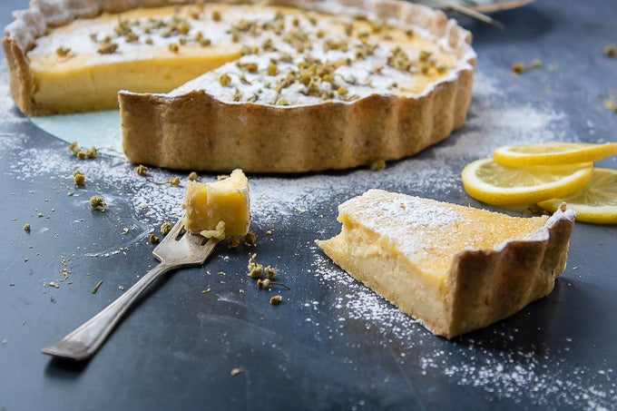Chamomile & Lemon Tart Recipe