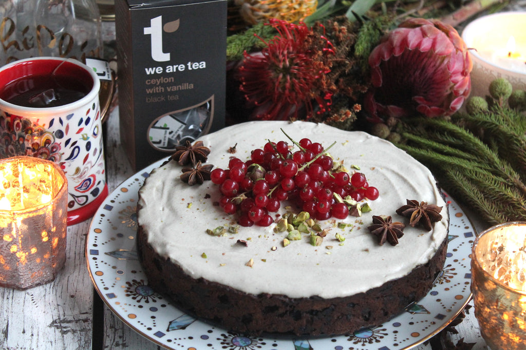 Ceylon Tea Infused Christmas Cake