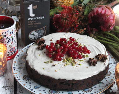 Infused Christmas Cake