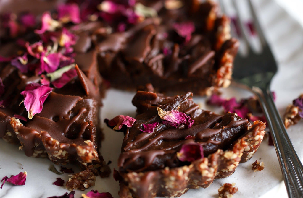 Vegan No Bake Mint Choc Tartlets Recipe