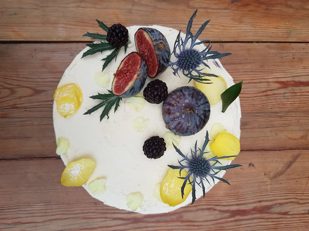 Earl Grey, Fig & Honey Cake Recipe