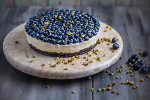 chamomile and vanilla cheesecake