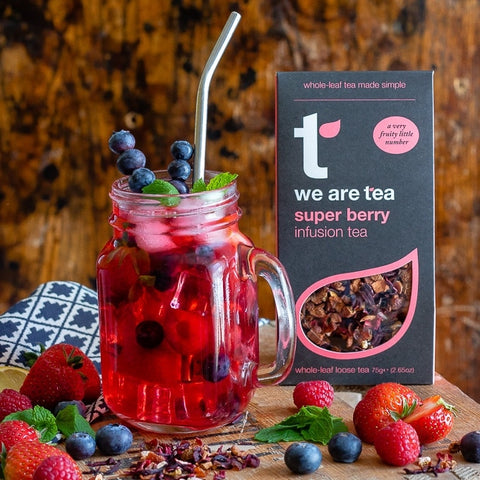 super berry iced tea