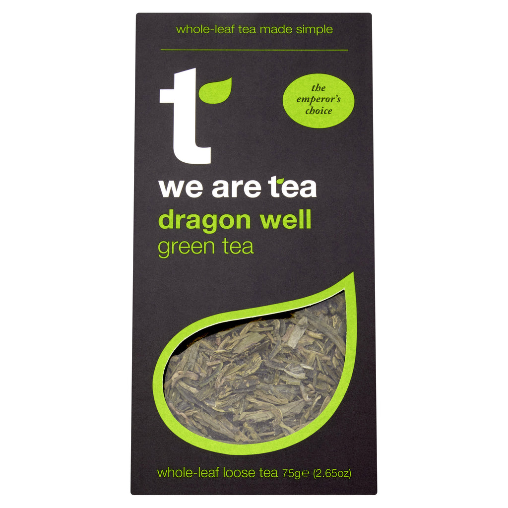 We Are Tea dragon well green tea longjing