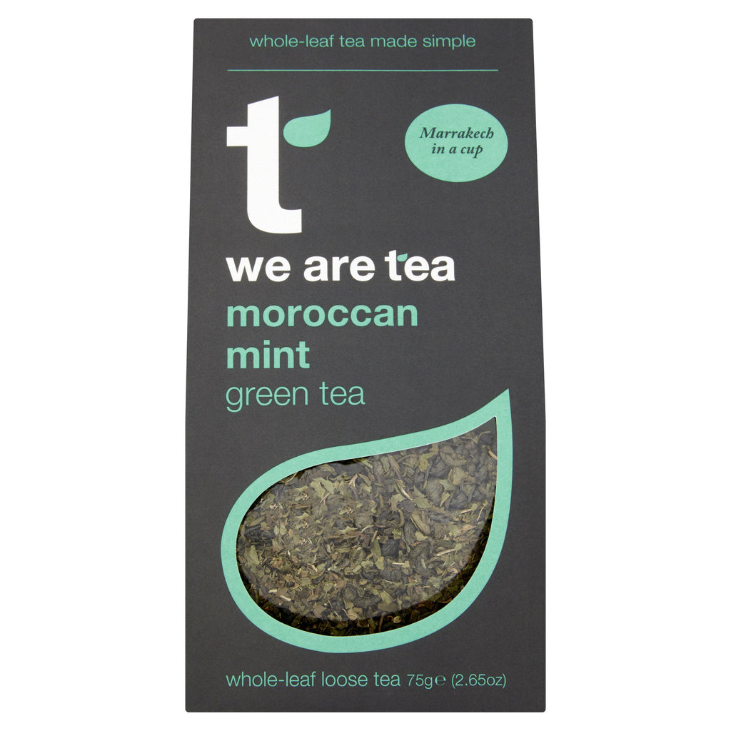 We Are Tea moroccan mint green tea loose leaf