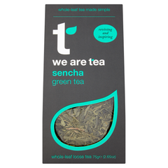 We Are Tea sencha loose leaf green tea