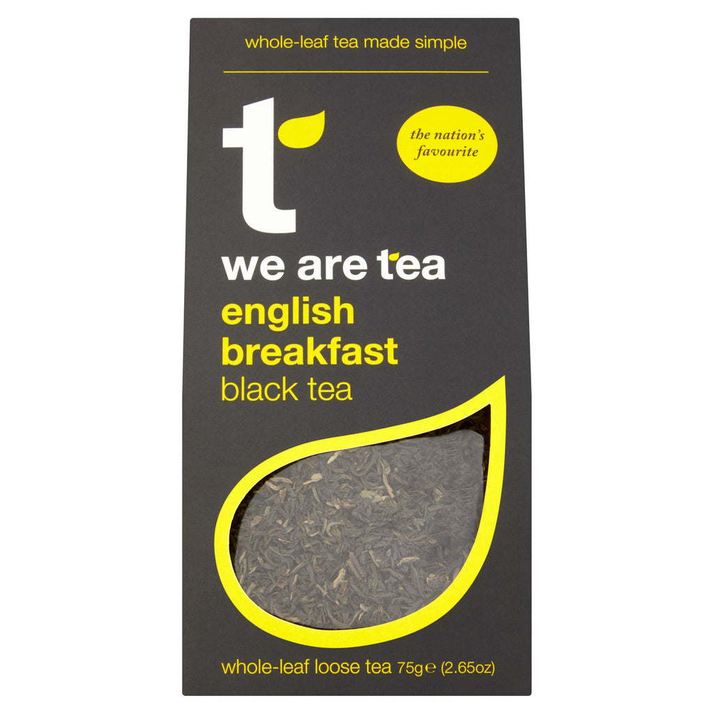 We Are Tea English breakfast loose leaf black tea