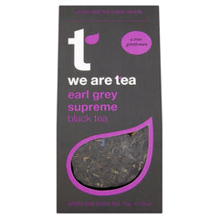 We Are Tea earl grey supreme loose leaf black tea