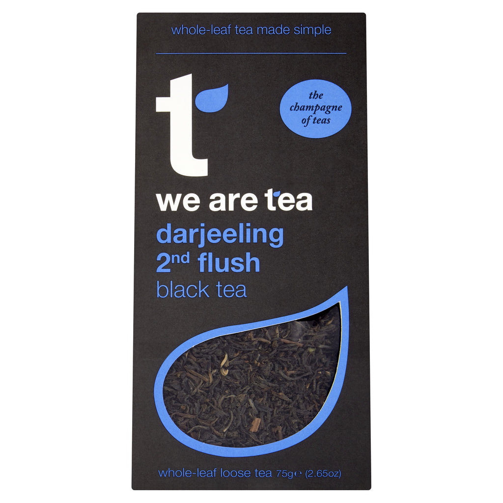 We Are Tea darjeeling 2nd flush whole leaf black tea