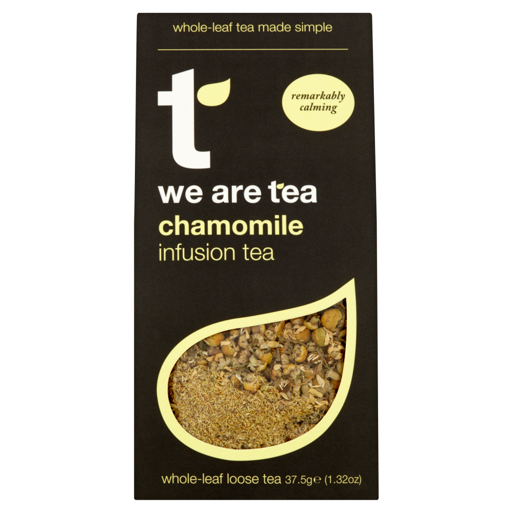 We Are Tea chamomile loose whole leaf tea