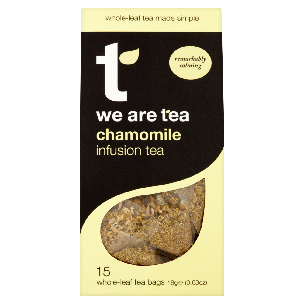 We Are Tea chamomile whole leaf teabags