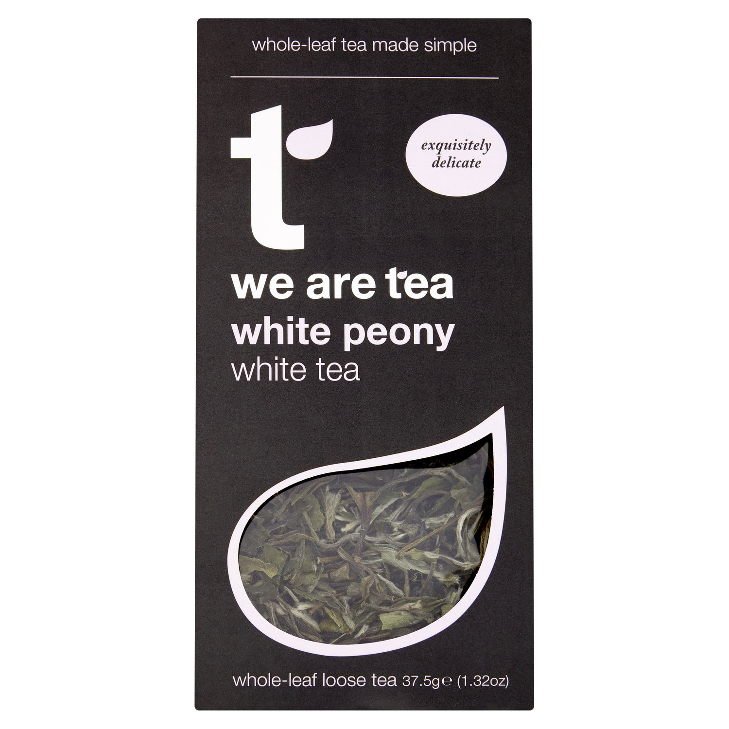 we are tea white peony white tea loose leaf