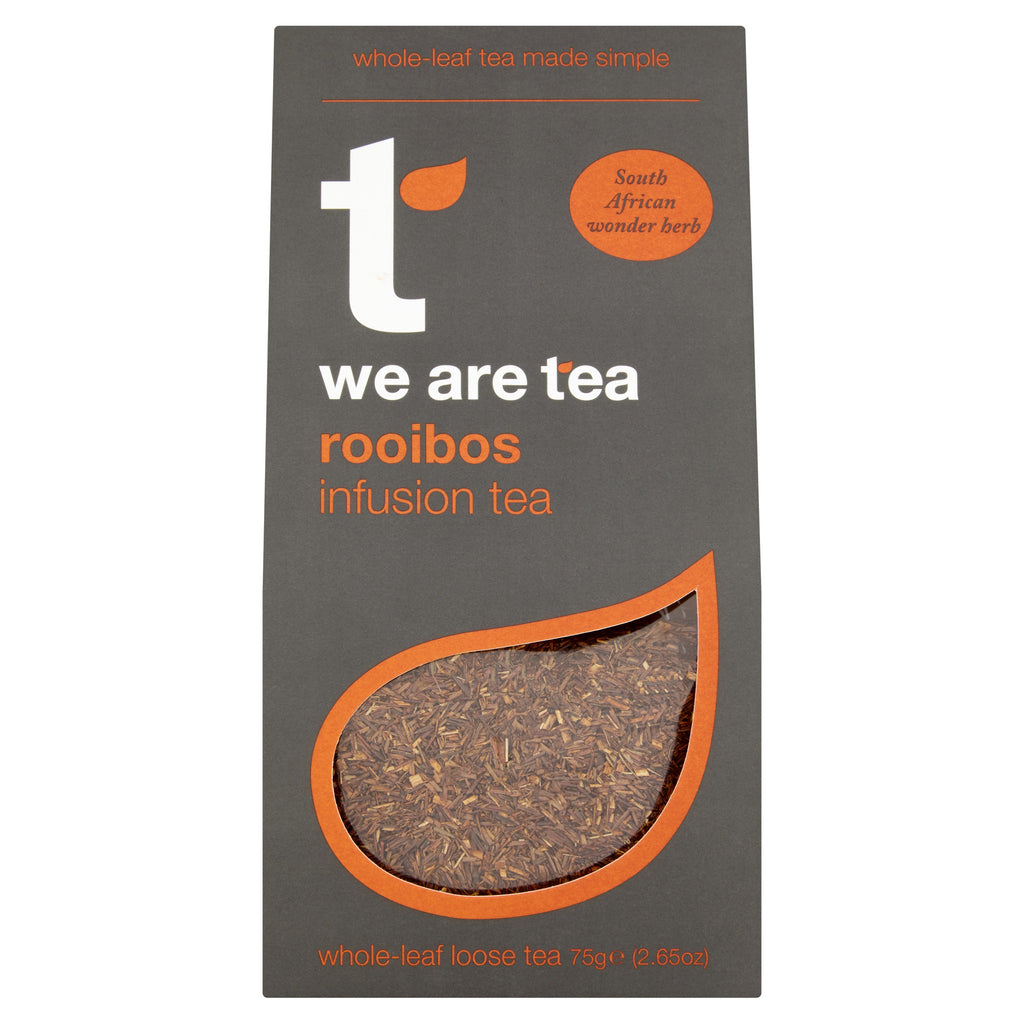 We Are Tea South African rooibos loose leaf tea