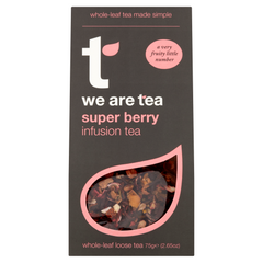 We Are Tea super berry loose leaf tea rose-hips hibiscus red berries