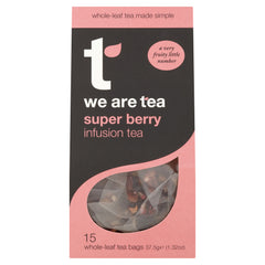 we are tea super berry tea bags