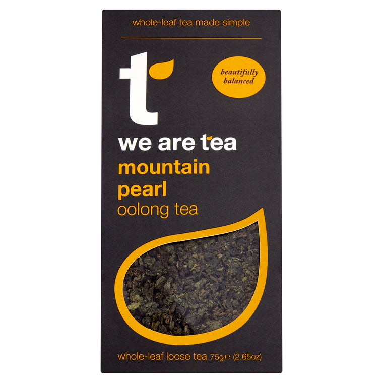 Mountain Pearl Oolong Loose Leaf Tea