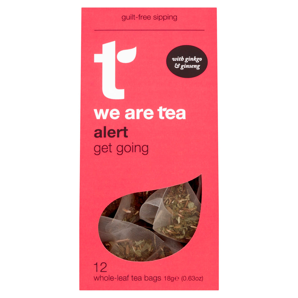 Alert tea with Ginseng and Ginkgo