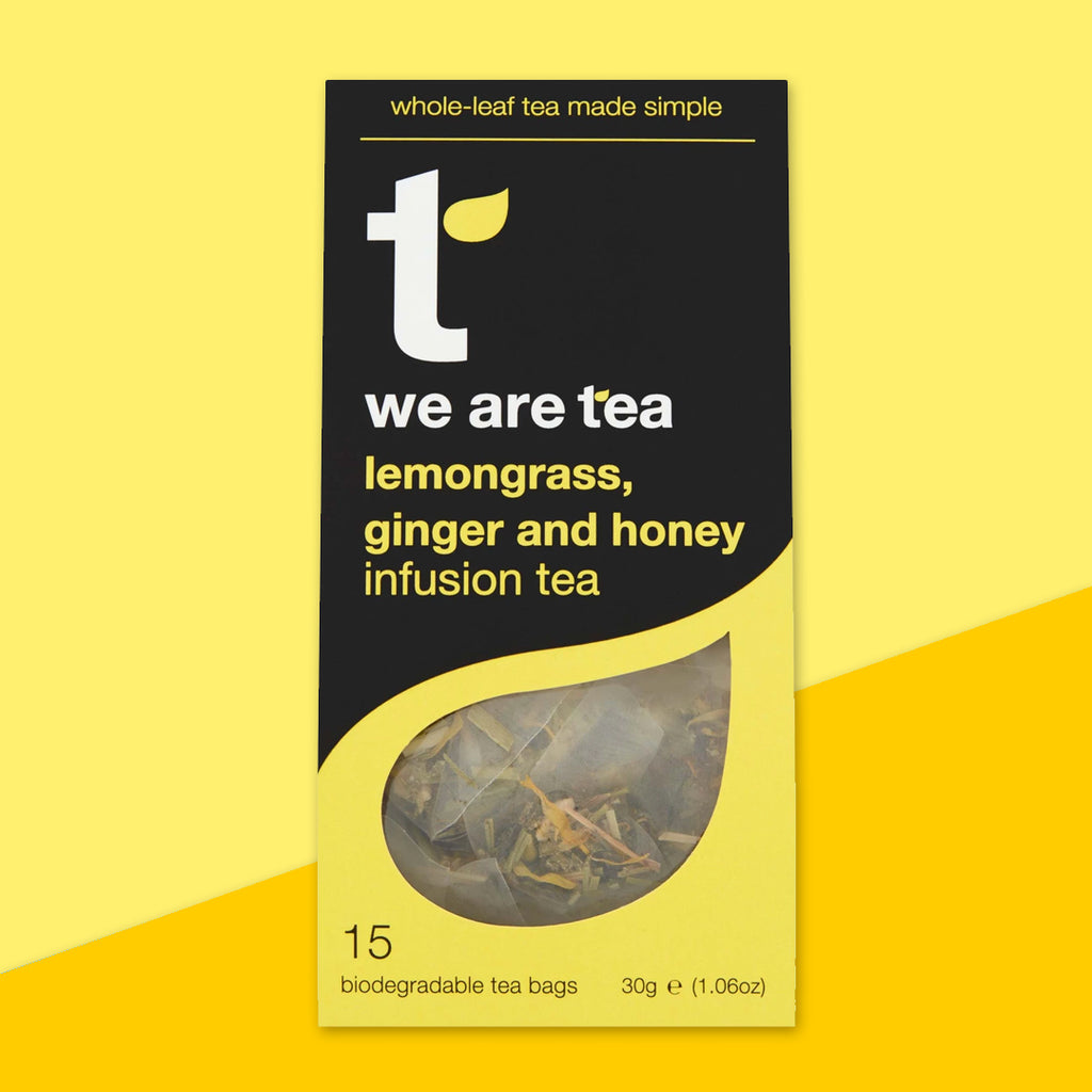 Lemongrass, Ginger & Honey Tea bags