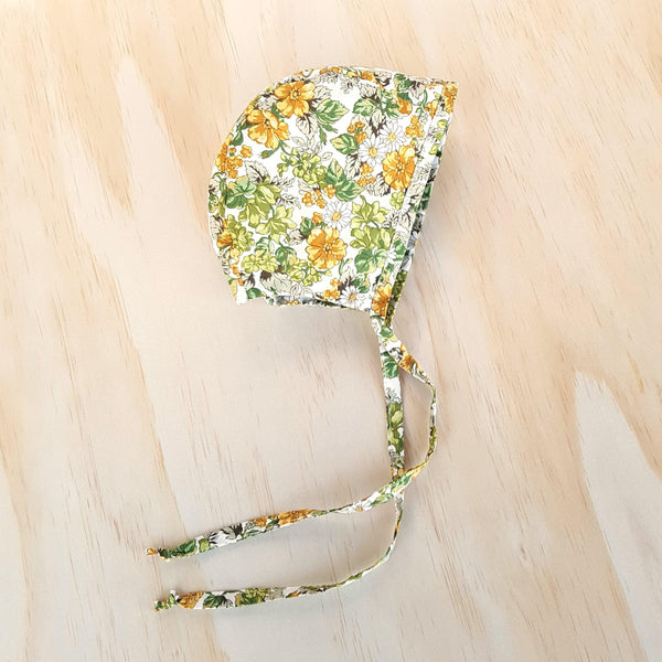 Classic Bonnet in Marigold