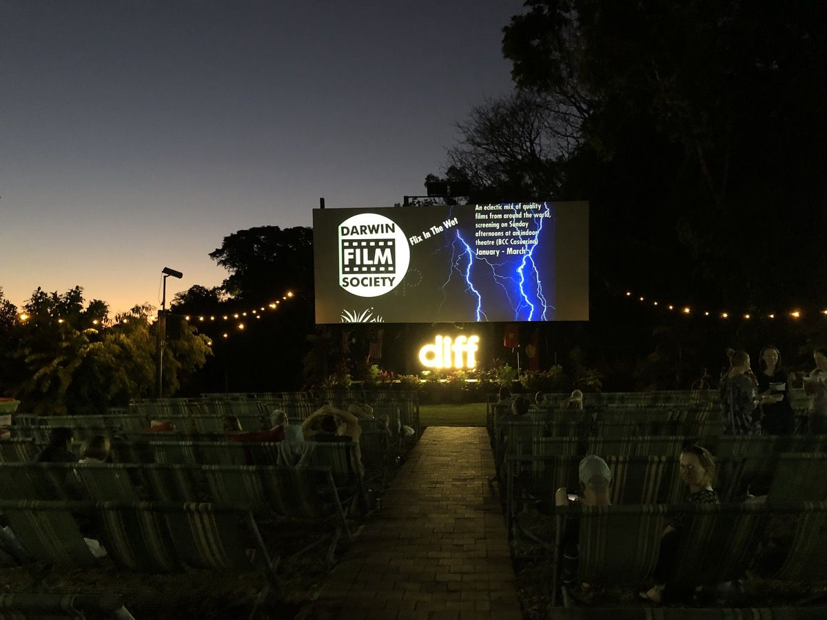 Deckchair Cinema Darwin Northen Territory Australia Feather Fox Boutique