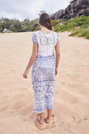 Byron Bay Lace Blue Dress
