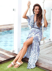 Dream State Boho Maxi Dress Feather Fox Boutique