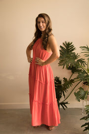 Fuscia Pink Holiday Dress Feather Fox Boutique Australia