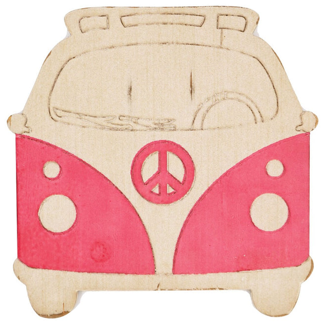 Kids Red Kombi Wall Hanging