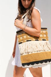 Oversized Boho Tote Bag Feather Fox Boutique Queensland