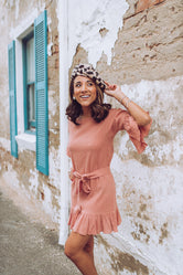 Penelope Dress in Blush