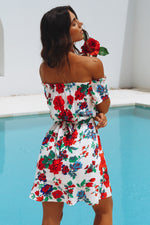 Rose Dream Boho Dress
