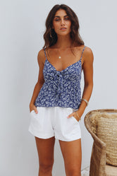 Summer Escape Floral Top