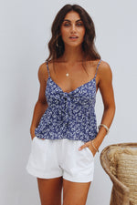 Summer Escape Floral Top Womens Clothing Feather Fox