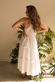 White Holiday Dress Feather Fox Boutique Gold Coast Australia