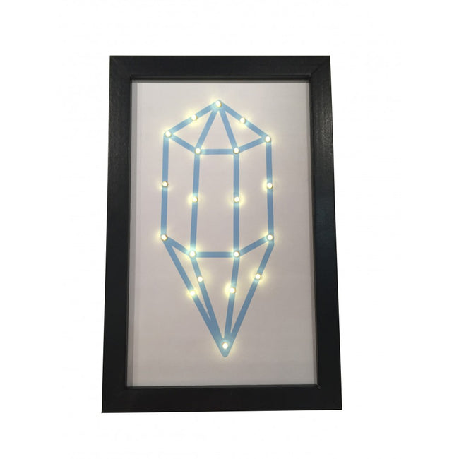 Blue Diamond LED Wall Hanging Picture