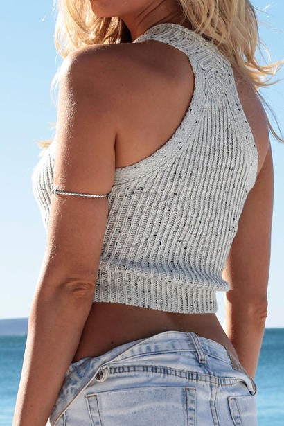 Racer Back Knit