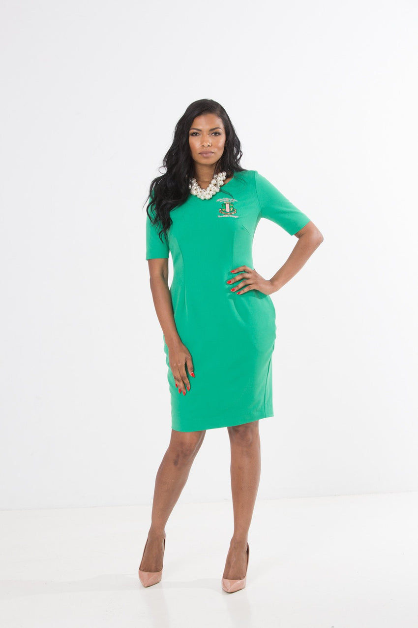 Camille Sheath Dress - Pi Nu Omega & Eta Psi