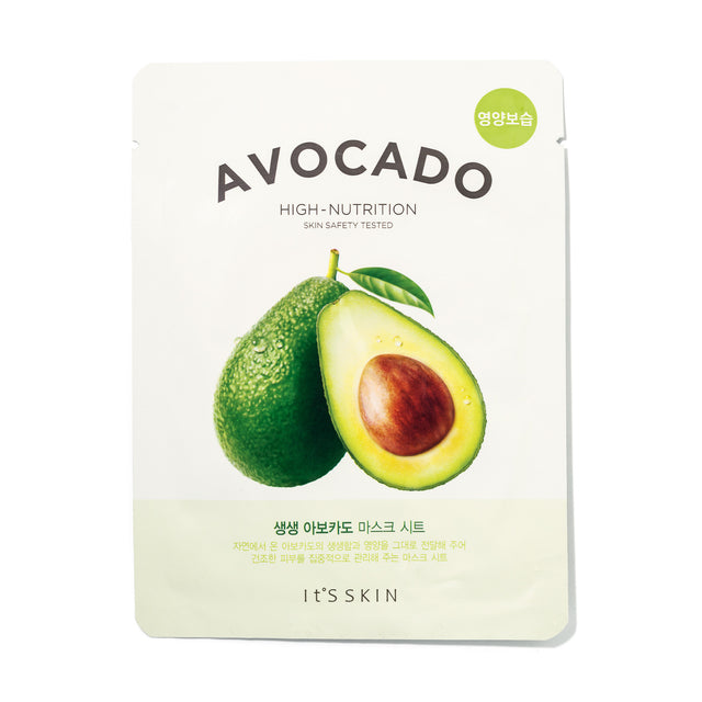 The Fresh Mask Sheet - Avocado - Sheet Masks Its Skin Free Shipping Somei